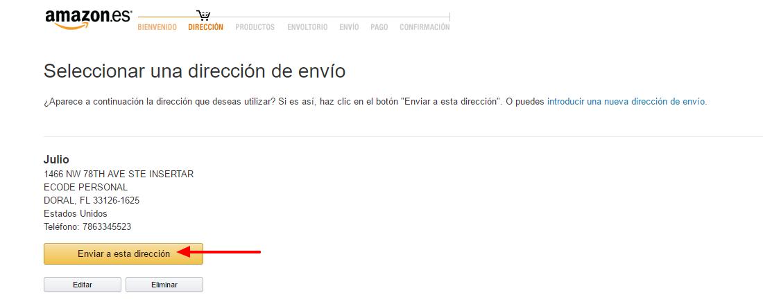 amazon usa español compras por internet