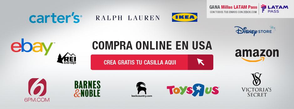 Registrate Gratis Compra En Usa Desde Peru Y Gana Millas Latam Pass Tu Mejor Casilla Miami
